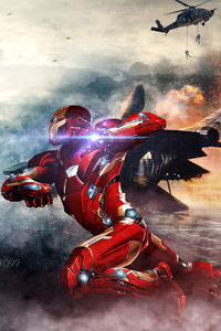 Captain America Iron Man