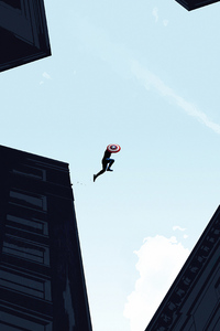 Captain America Jump