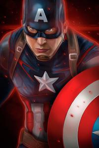 Captain America Latest Art