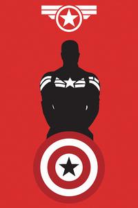 2160x3840 Captain America Marvel Shield 5k