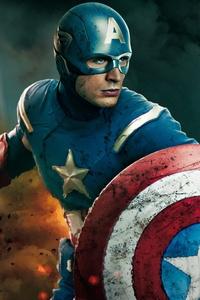 Captain America Marvel Superhero 4k