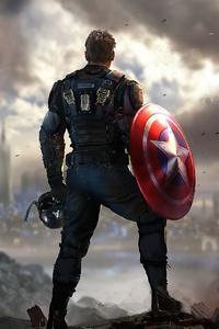 640x960 Captain America Marvels Avengers 4k