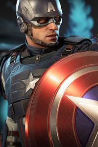 640x960 Captain America Marvels Avengers 5k