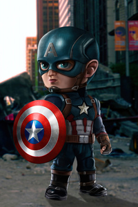 1125x2436 Captain America Mini 5k