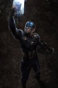 Captain America Mjolnir Hd Art