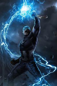 Captain America Mjolnir New Art 4k