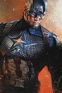 1080x2280 Captain America Mjolnir