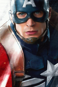 Captain America New Sketch Art