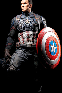 1125x2436 Captain America Ready