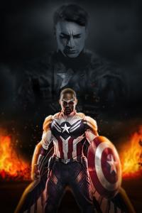640x1136 Captain America Sam Wilson 4k