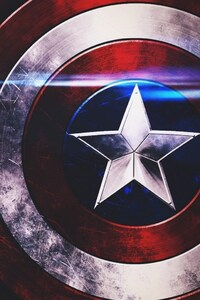 640x960 Captain America Shield