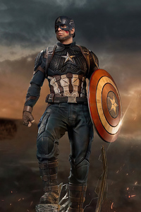 480x854 Captain America Shield Saver