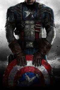 640x960 Captain America Steve Rogers