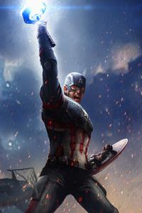 1280x2120 Captain America Stormbreaker