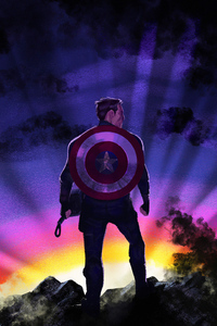 480x854 Captain America Sunrise