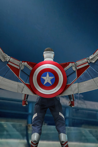 1280x2120 Captain America The Falcon And The Winter Soldier 5k