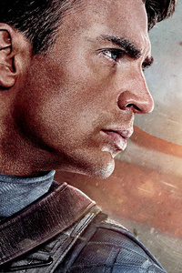 1440x2560 Captain America The First Avenger 2011 Poster