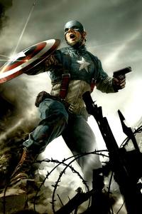 Captain America The First Avenger Artwork
