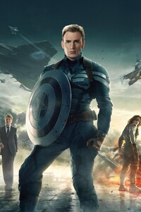 1080x2160 Captain America The Winter Soldier