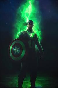 1280x2120 Captain America Time Stone 4k