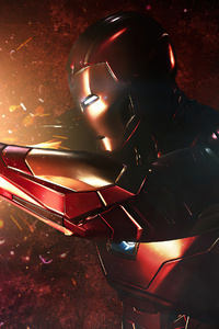 720x1280 Captain America Vs Iron Man Fight 4k