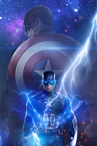 Captain America Worthy