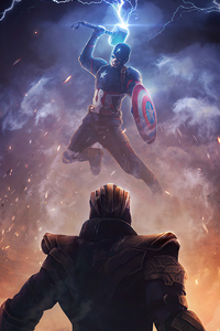 Captain America Worthy Thanos