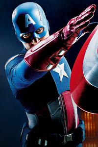 1125x2436 Captain America4k 2020