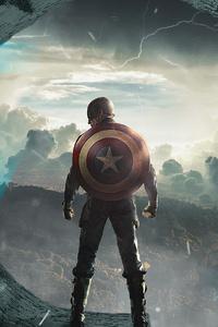 240x400 Captain America4kart