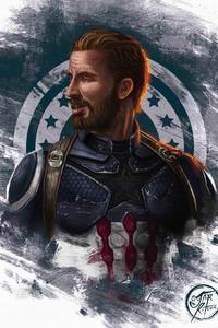 1125x2436 Captain Beard America