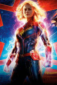240x320 Captain Marvel 2019 10k