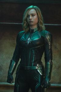 1080x2280 Captain Marvel 2019 5k