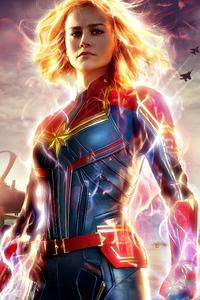 640x1136 Captain Marvel 2019 Latest