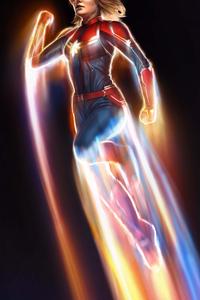 Captain Marvel 5k New Artwork