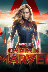 Captain Marvel 5k Poster