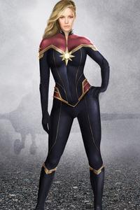 Captain Marvel Artwork 2019