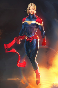Captain Marvel Artworks