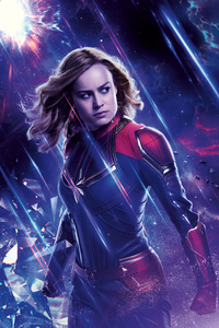 640x960 Captain Marvel Avengers End Game 8k