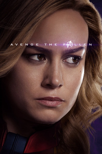 Captain Marvel Avengers Endgame 2019 Poster