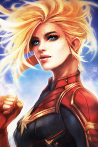 Captain Marvel Best Artwork
