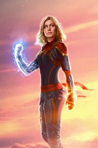 2160x3840 Captain Marvel Brie Larson 5k