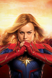 1280x2120 Captain Marvel Brie Larson