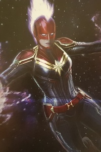 Captain Marvel Concept Artworks