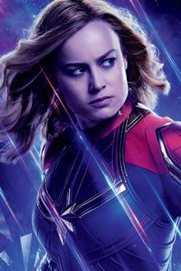 Captain Marvel In Avengers Endgame