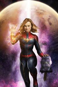 Captain Marvel Killed Thanos