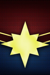 720x1280 Captain Marvel Logo