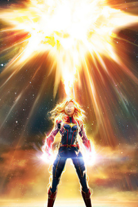 360x640 Captain Marvel Marvel Contest Of Champions 2020