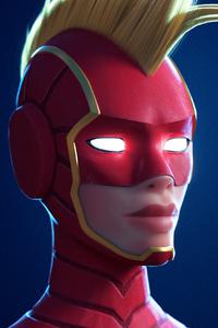 Captain Marvel Mask