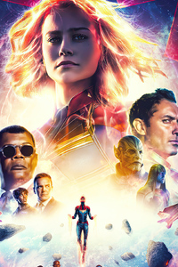 Captain Marvel Mcu Post Series 4k