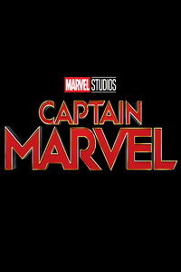 Captain Marvel Movie 2019 5k Logo